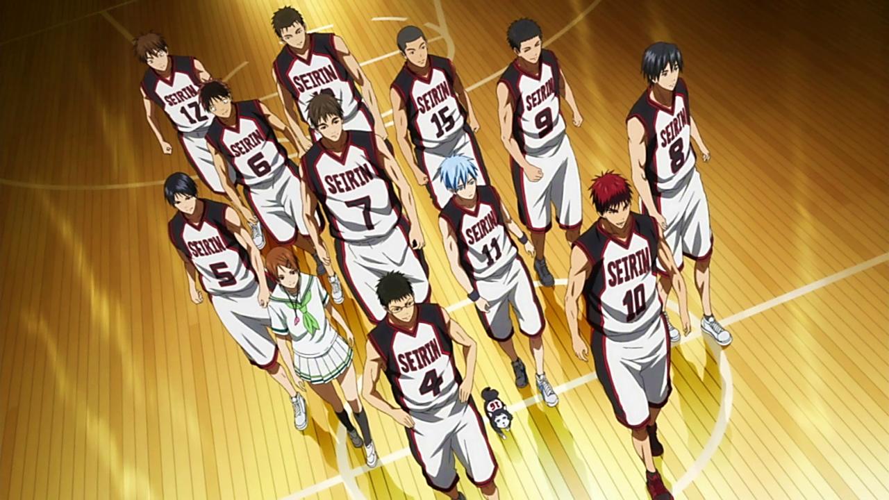 The Basketball Which Kuroto Plays